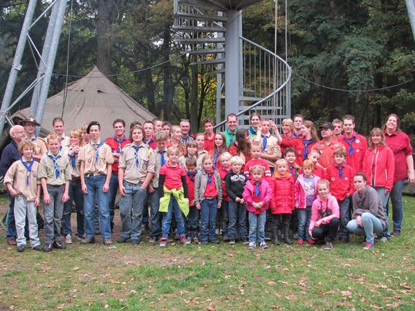 Groepsfoto Teylersgroep 2012