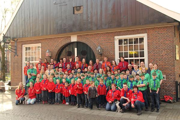 Groepsfoto Teylersgroep 2014