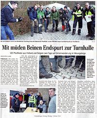 Pooltocht artikel Duitse krant