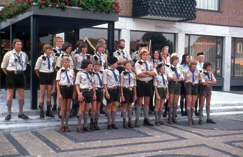 Teylersgroep Groepsfoto 1973