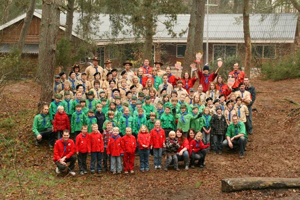Groepsfoto Teylersgroep 2010